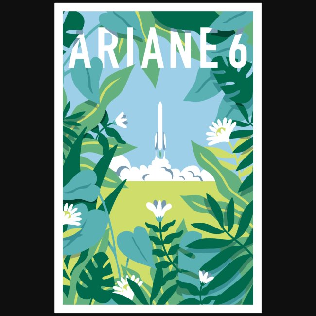 Ariane 6 by Quentin Monge