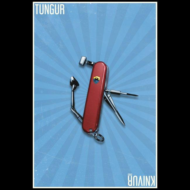 Tungur Knivur GBAD Poster