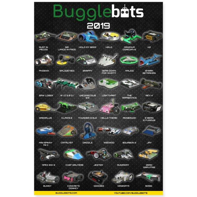 Bugglebots 2019 Poster