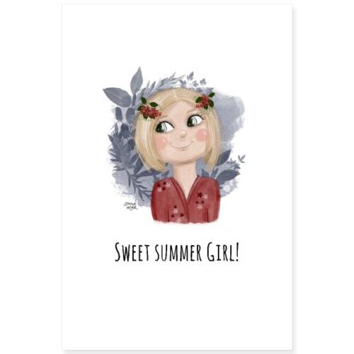 Sommermaedchen Poster