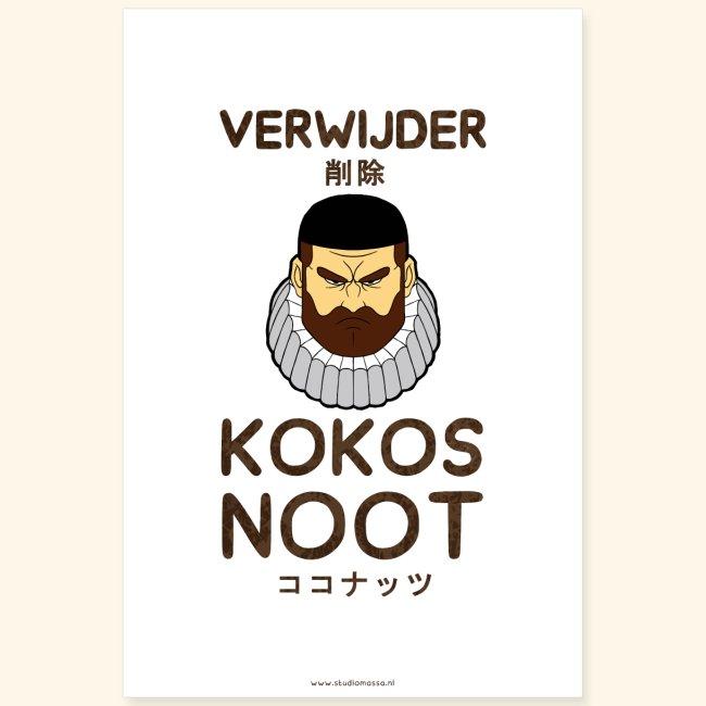 Verwijder Kokosnoot Poster