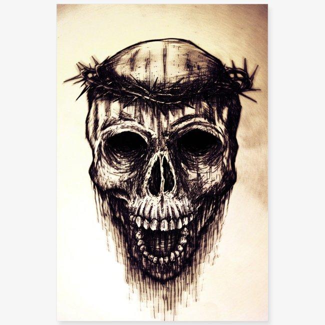 jesus skull