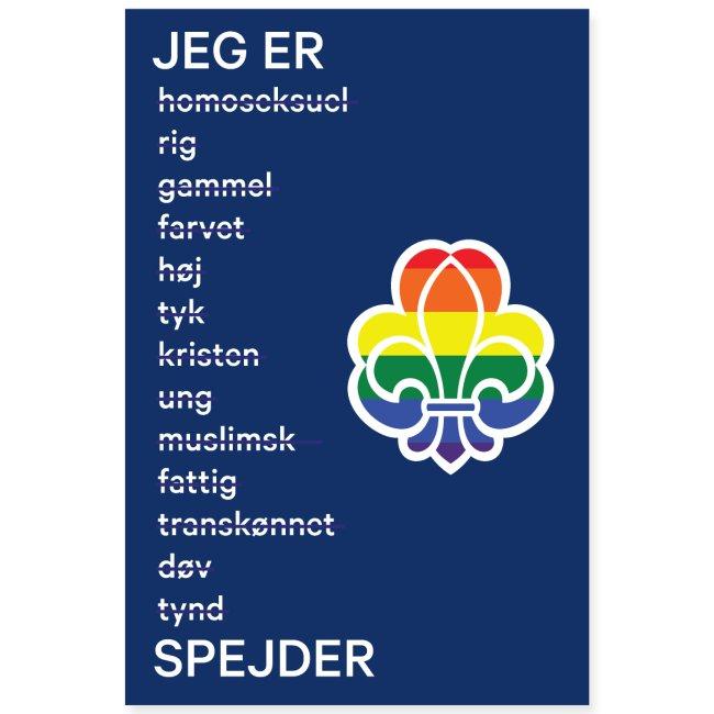 Regnbuespejderplakat nr1