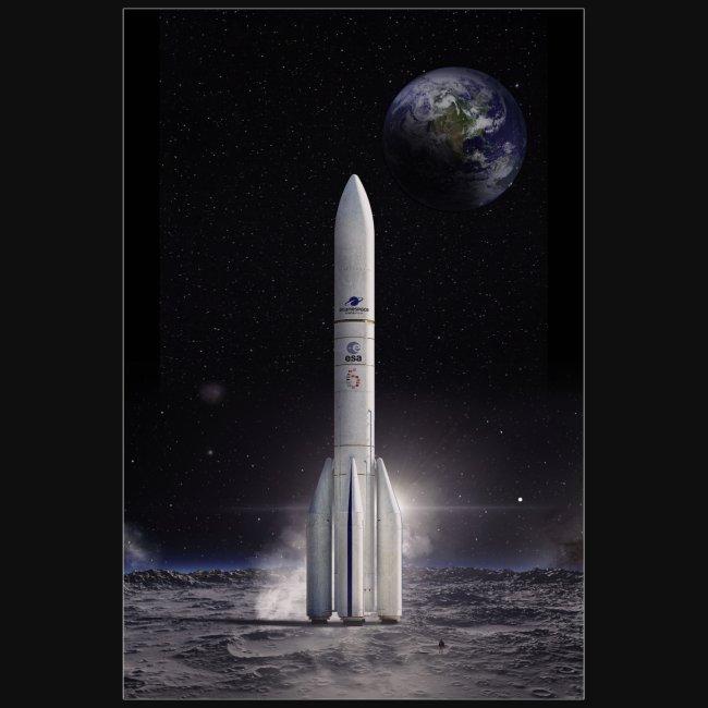 Ariane reaches for the Moon