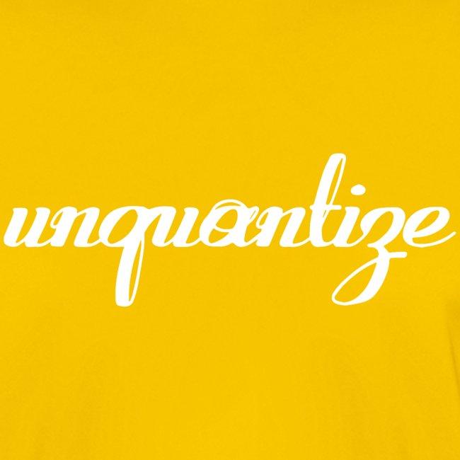 unquantize white logo