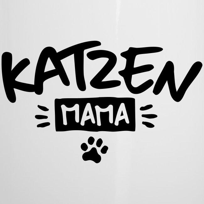 Vorschau: Katzen Mama - Emaille-Tasse