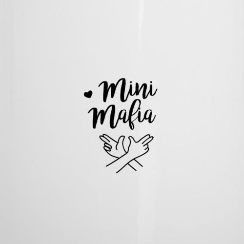 Mini-Zwillings-Mafia - Emaille-Tasse