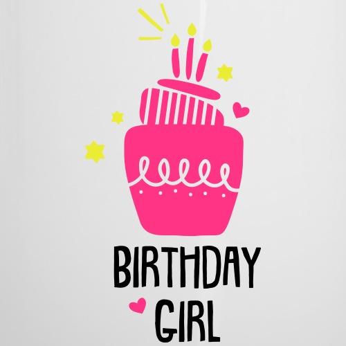 Geburtstagsshirt Mädchen - Emaille-Tasse