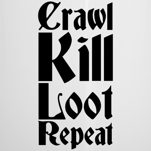 Crawl, kill, loot, repeat - Camper Mug