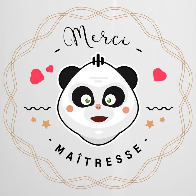 Merci maitresse-panda