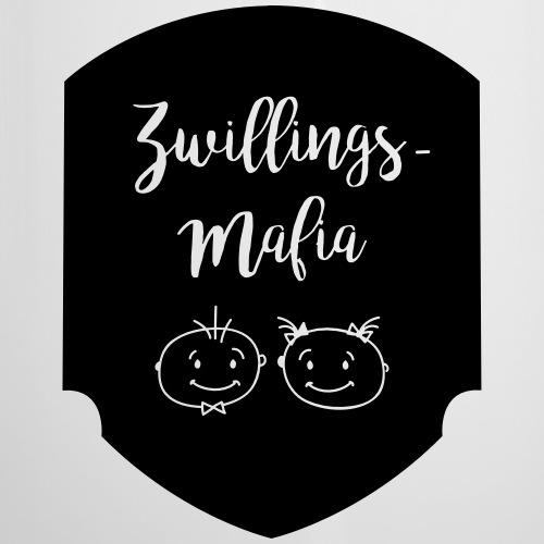 Zwillings-Mafia: Bub-Mäd - Emaille-Tasse