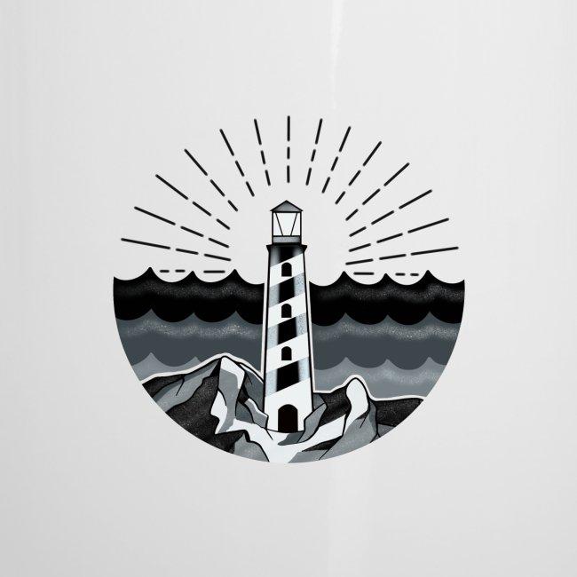 Leuchtturm Meer Ozean maritim