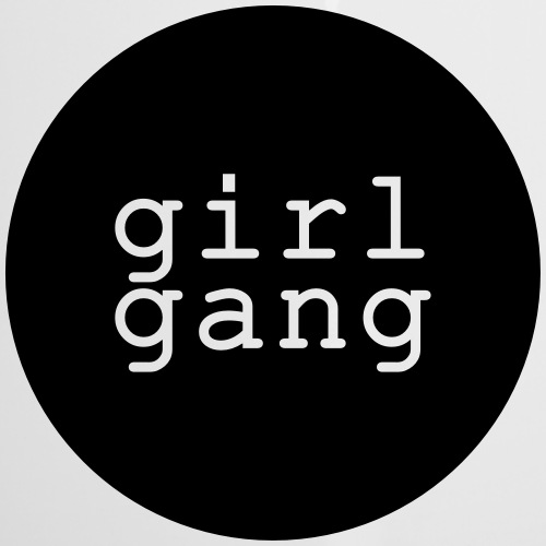 Shirt/Body: Girl Gang - Emaille-Tasse