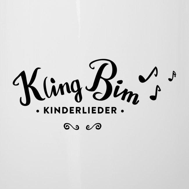 Windpferd mit schwarzem Logo - KlingBim