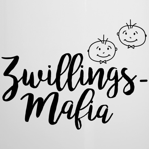 Zwillingsmafia: Buben - Emaille-Tasse