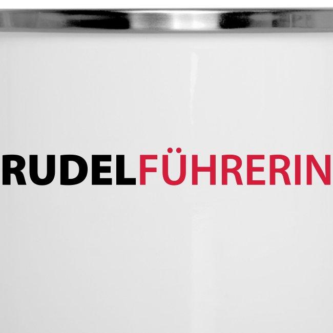 Vorschau: Rudelführerin - Emaille-Tasse