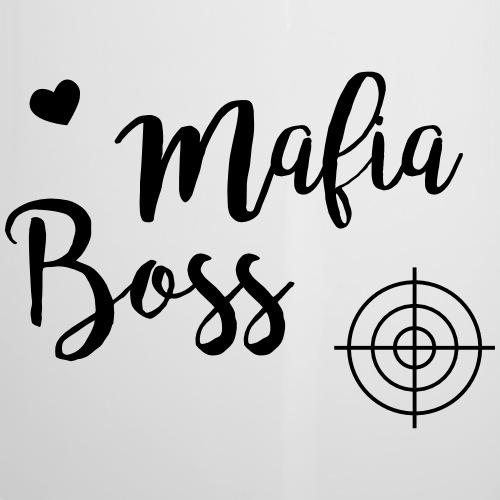 Shirt Mafiaboss - Emaille-Tasse