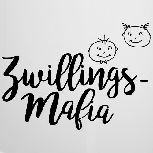 Zwillingsmafia Pärchen - Emaille-Tasse