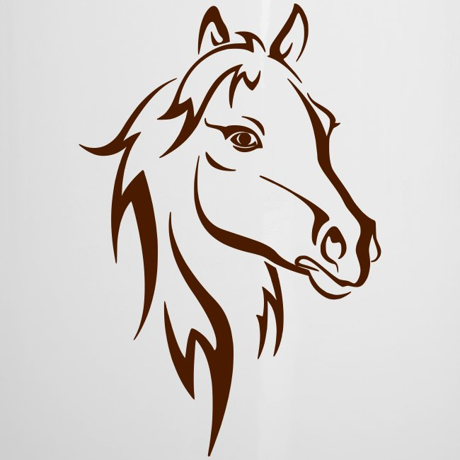 Vorschau: Horse - Emaille-Tasse