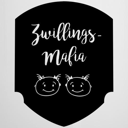 Zwillings-Mafia: 2Mädchen - Emaille-Tasse