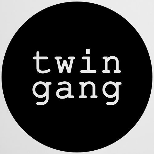 Shirt/Body: Twin Gang - Emaille-Tasse