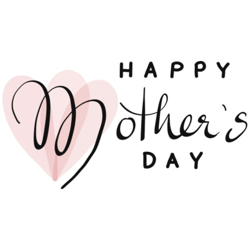 Happy Mothers Day - Emaille-Tasse