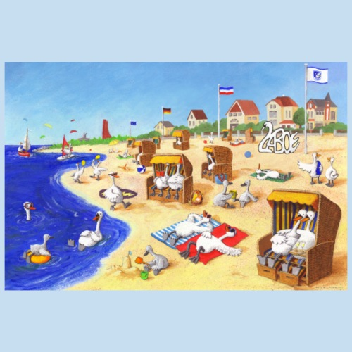 Strand Laboe - Poster 90x60 cm