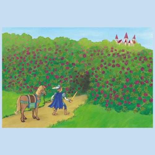 Motiv Prinz sucht Dornröschen - Poster 90x60 cm