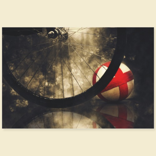Poster | Radball | Cycle Ball 02 - Poster 90x60 cm