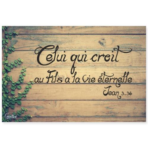 Poster Jean 3 36 - Poster 90 x 60 cm