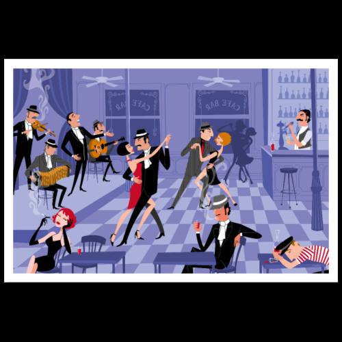 Bar de Tango Poster