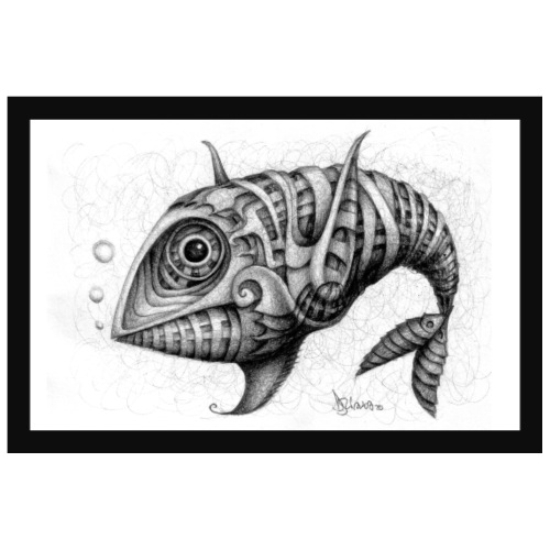 Pesce & Fish Poster - Poster 90x60 cm