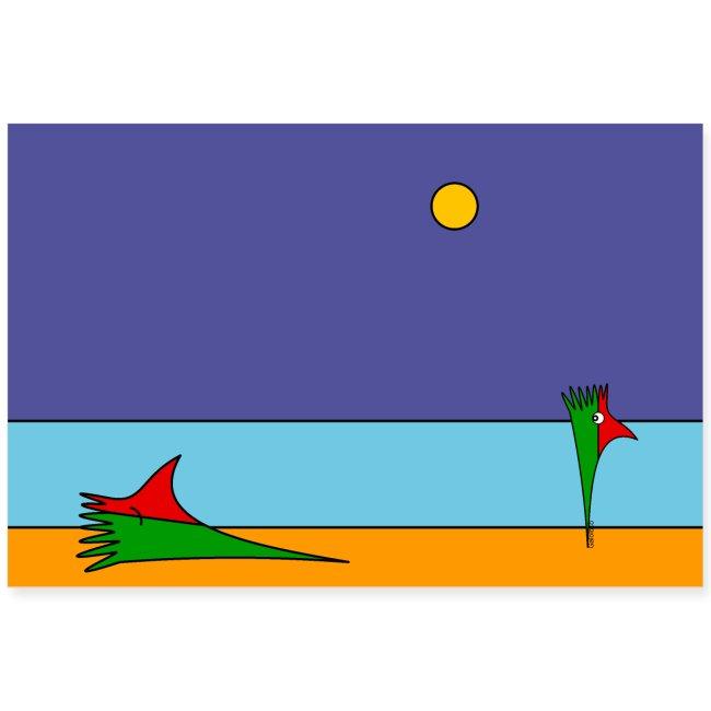 Galoloco - na praia / at the beach (1) - 3:2