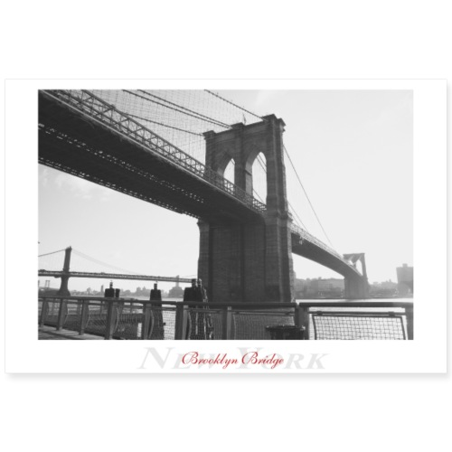 Brooklyn Bridge (Poster) - Poster 90x60 cm