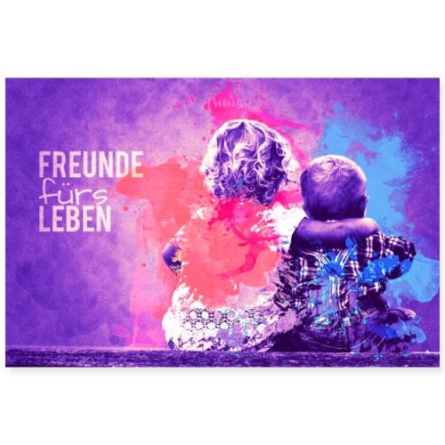 Freunde Fürs Leben - Poster 90x60 cm