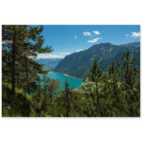 Achensee. Tirol. Österreich. - Poster 90x60 cm