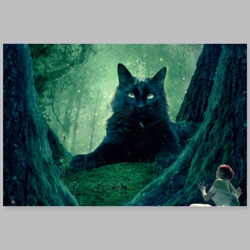 Il guardiano della foresta - Poster 90x60 cm