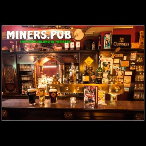 Poster Miners Pub - Poster 90x60 cm