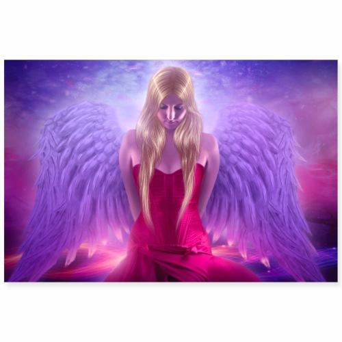 Nina Nice Angel Poster - Poster 90x60 cm