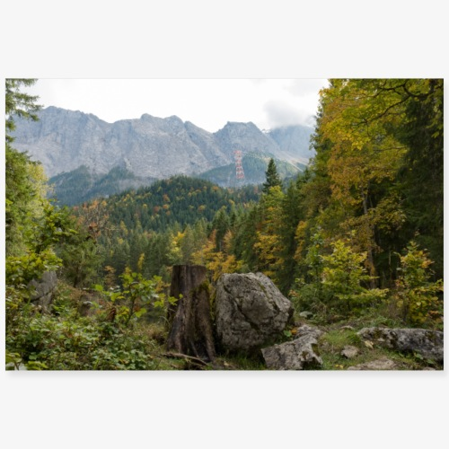 Frillensee - Poster 90x60 cm