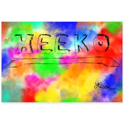Heeko Poster Summer-Edition - Poster 90x60 cm