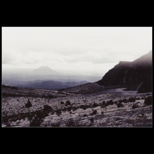 Desert Mountain / Analog Fotografie - Poster 90x60 cm