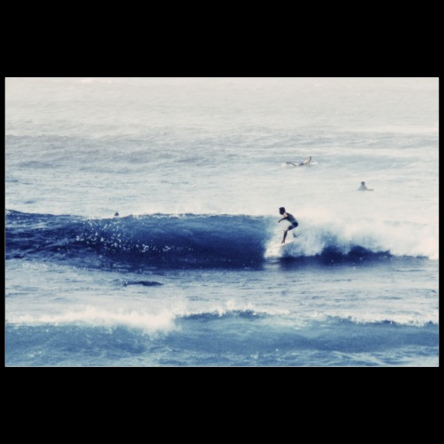 Surfer / Analog Fotografie - Poster 90x60 cm