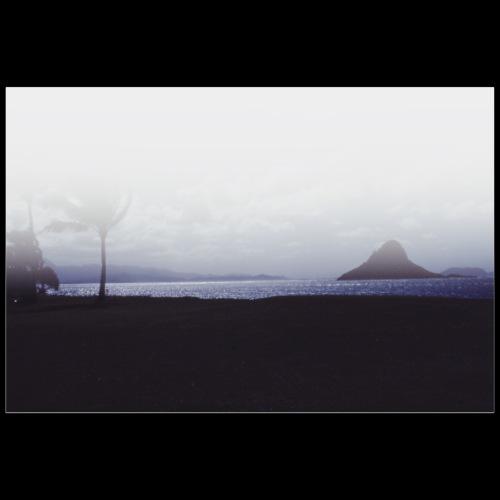 Stormy Beach / Analog Fotografie - Poster 90x60 cm