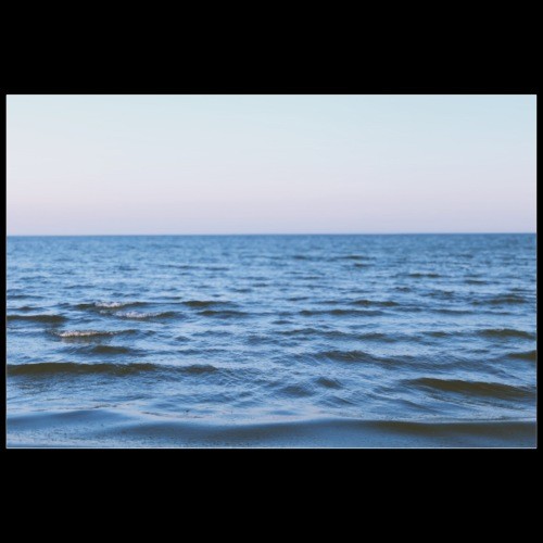 Water / Analog Fotografie - Poster 90x60 cm