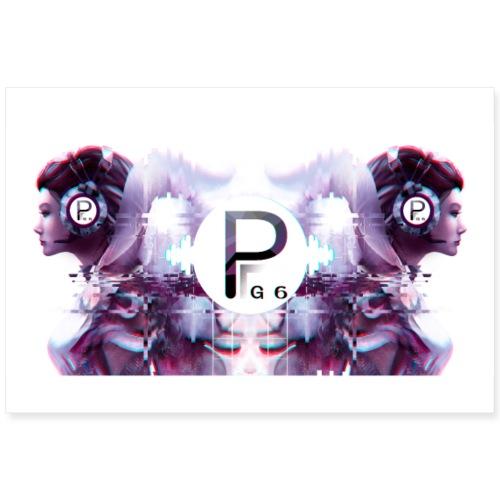 PG6 Poster - Poster 90x60 cm