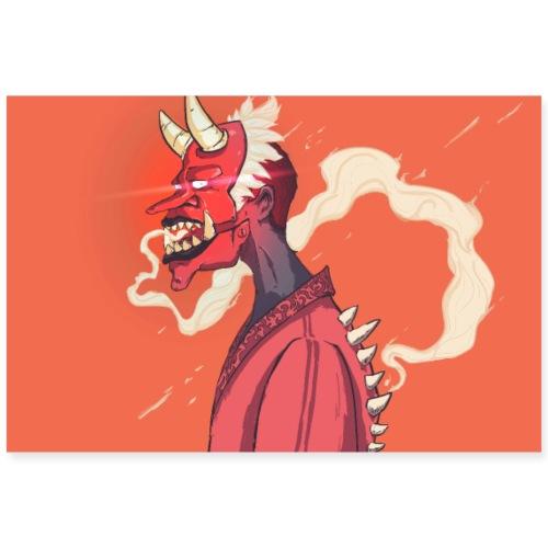 kabuki poster - Poster 90 x 60 cm