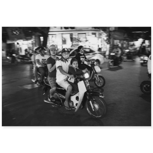 VIETNAM Famille en scooter
