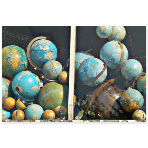 2 3 DE Poster Erde - Poster 90x60 cm