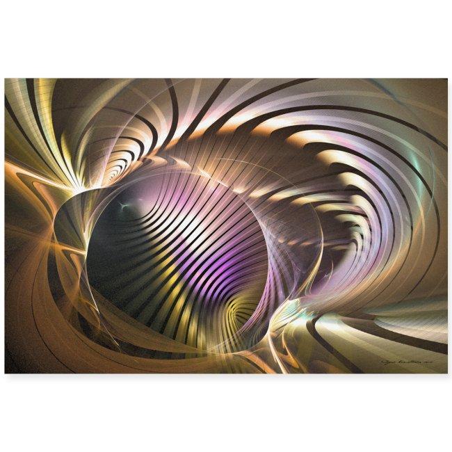 Abstrakti juliste - Requiem by Sipo Liimatainen